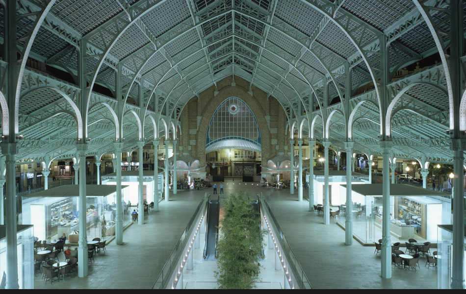 Mercado de Colon Atrium by Simon Dance Design
