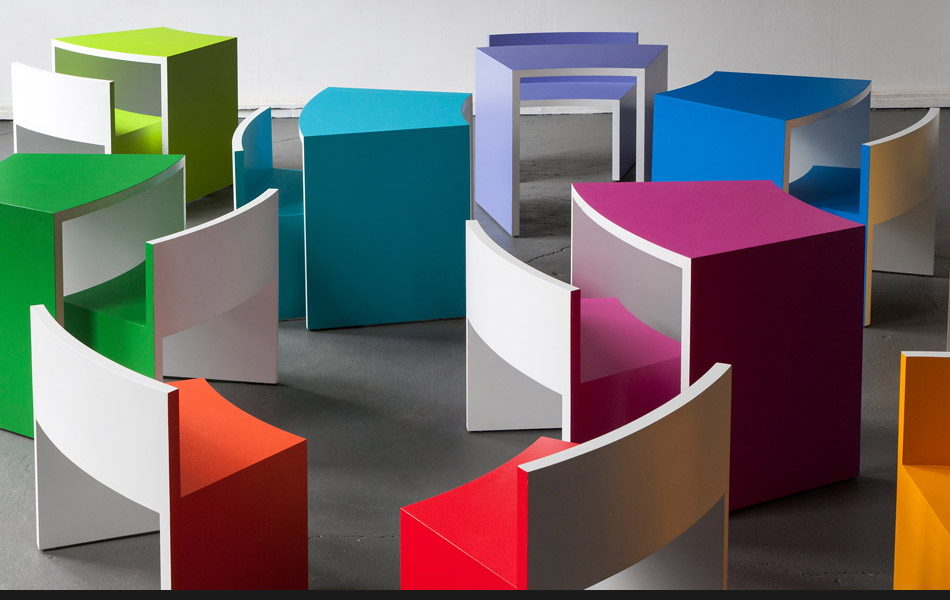 Open Outcry Furniture Children's edition ∞ configuration by Simon Dance Design